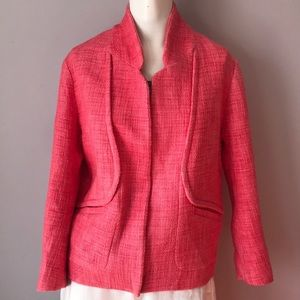 New Maje Coral Jacket Blazer Zip Up